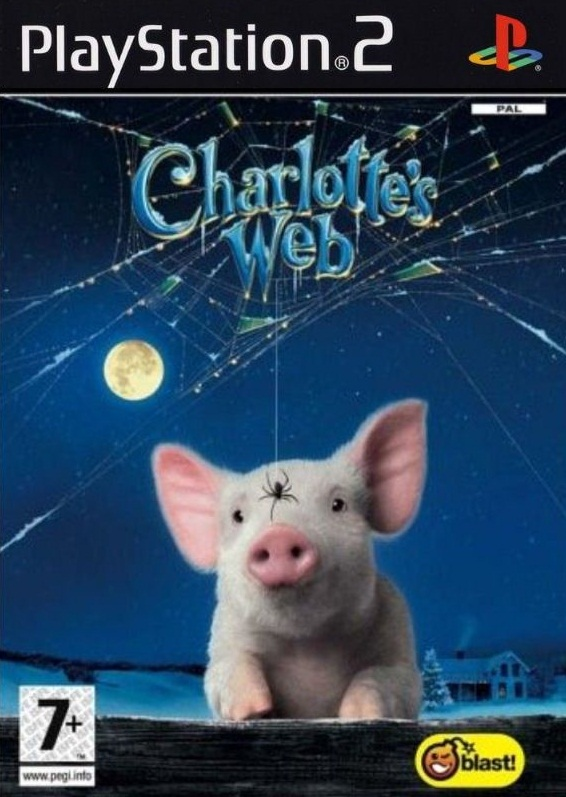 Charlotte 's Web - Šarlotina pavučinka PS2