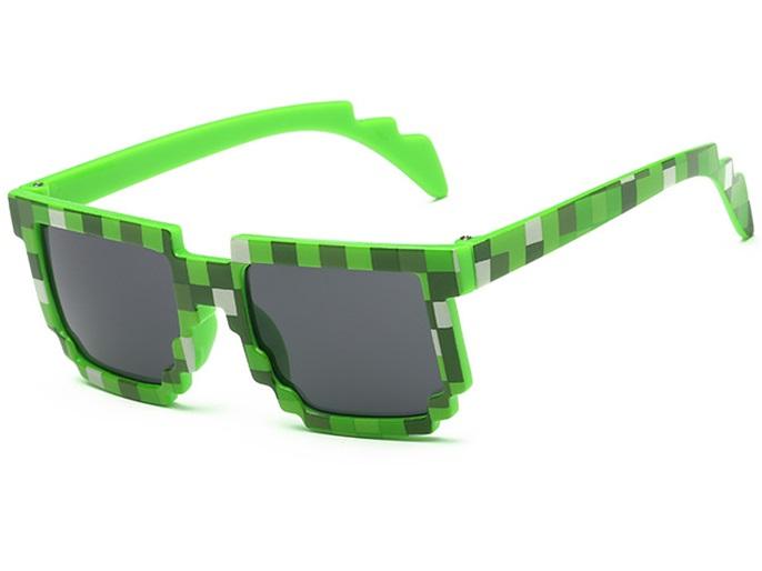 Minecraft slnečné okuliare