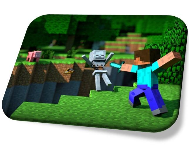 Podložka pod myš Minecraft v2