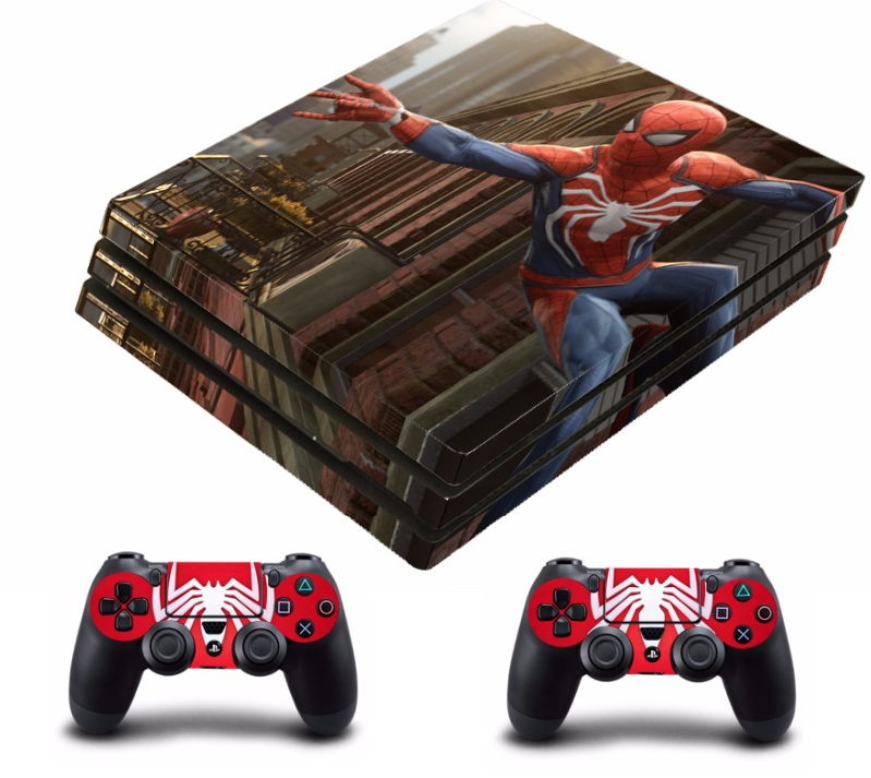 PS4 PRO polep SPIDERMAN